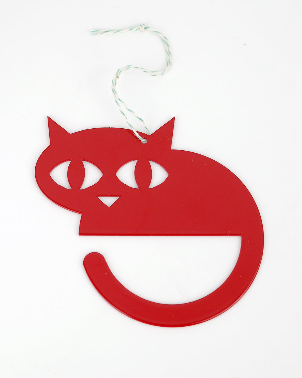 Stubborn Stiles: Cat Ornament