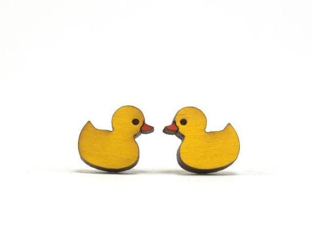 UnPossible Cuts: Ducky Earrings