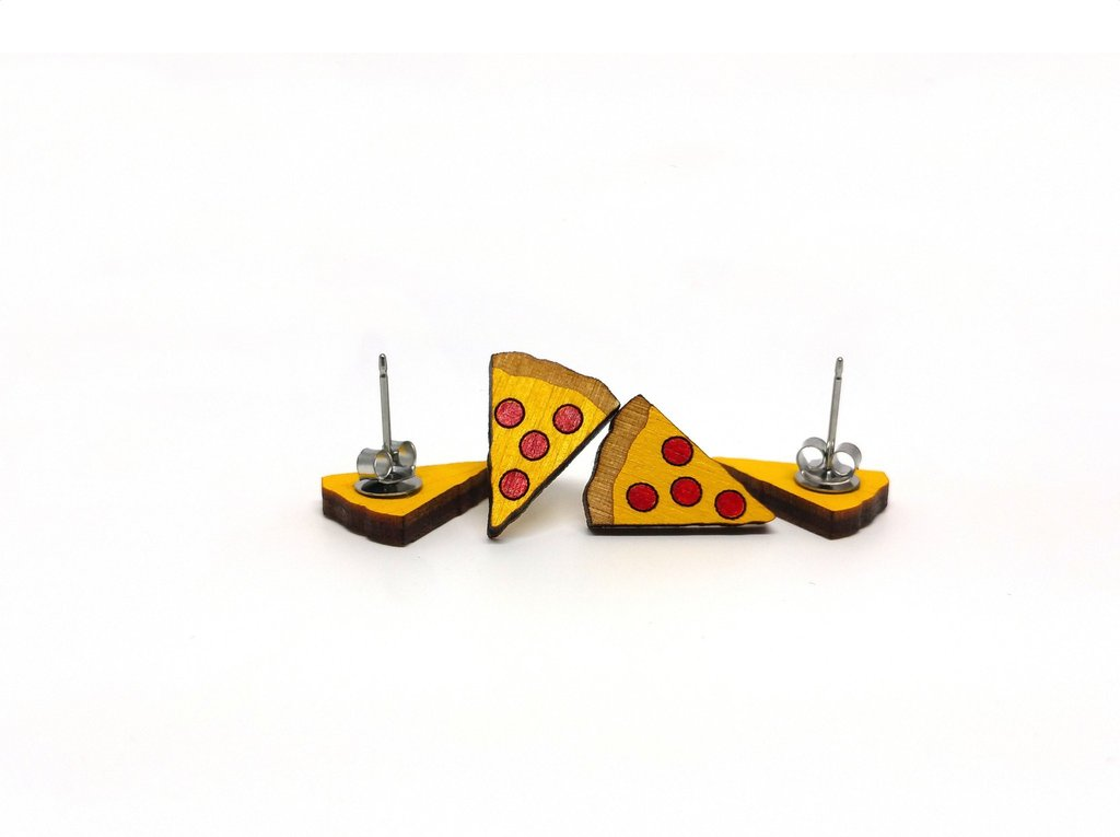 UnPossible Cuts: Pizza Earrings