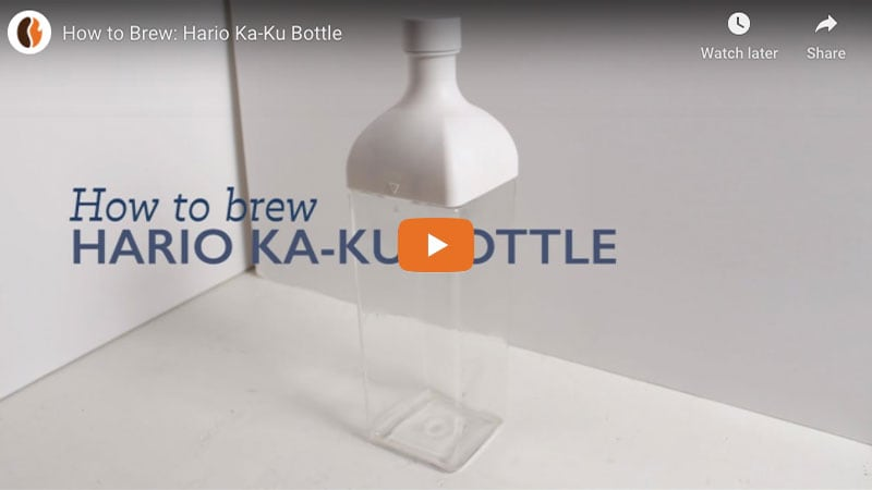 How to Brew: Hario Ka-Ku Bottle