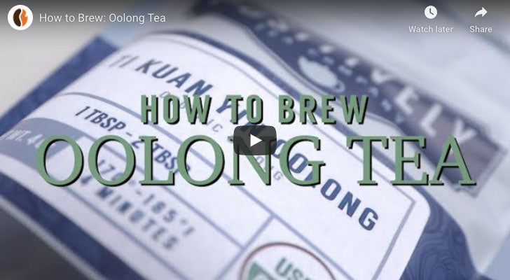 How to Brew: Oolong Tea