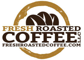 fresh roasted coffee logo