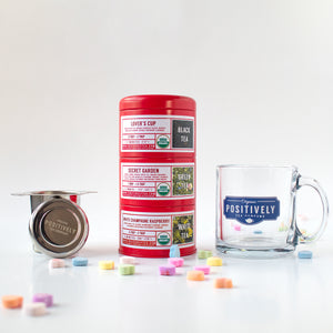 Valentine's Day Tea Tin Trio Gift Set