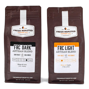 FRC Dark Roast & Light Roast Blend Pairing