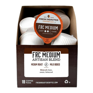 FRC Medium Roast Blend Coffee Pods