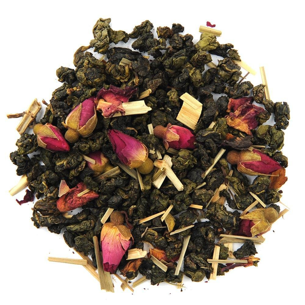 Organic Summer Rose Oolong Tea