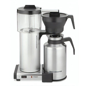 Technivorm® Moccamaster CDT Grand with Brushed Silver Carafe