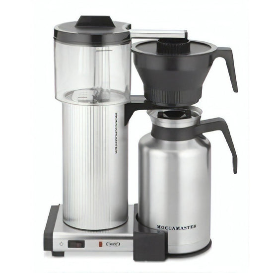 Technivorm Moccamaster CDT Grand with Brushed Silver Carafe