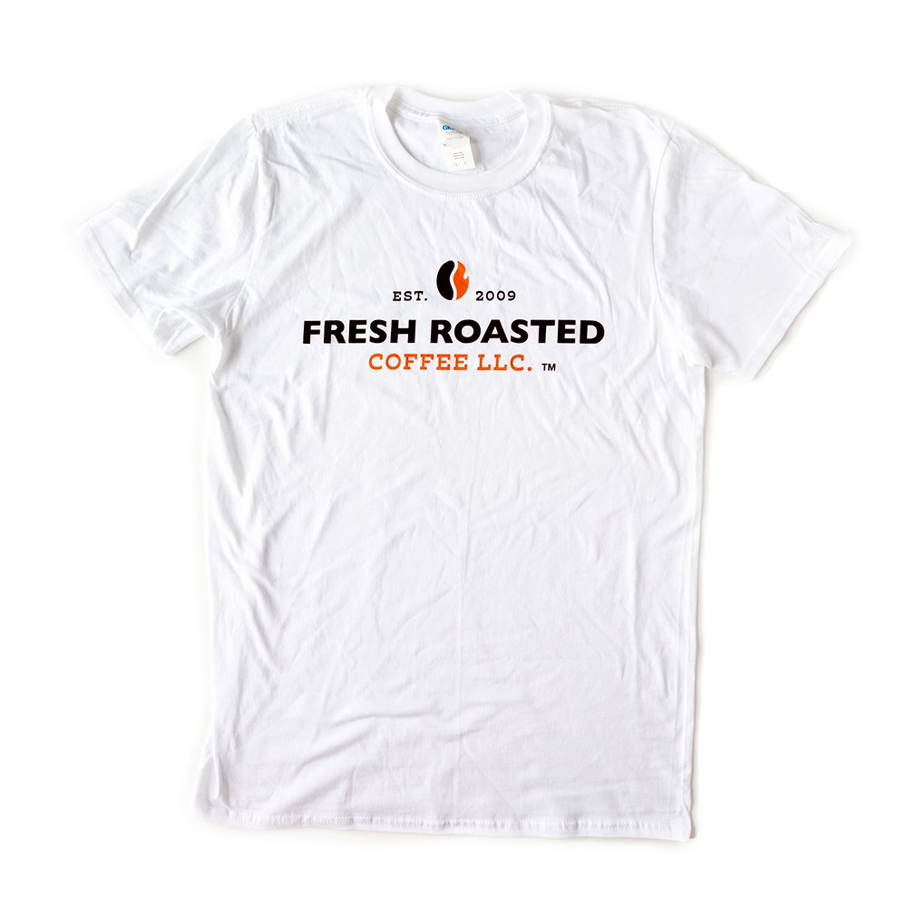Fresh Roasted Coffee T-Shirt (White)