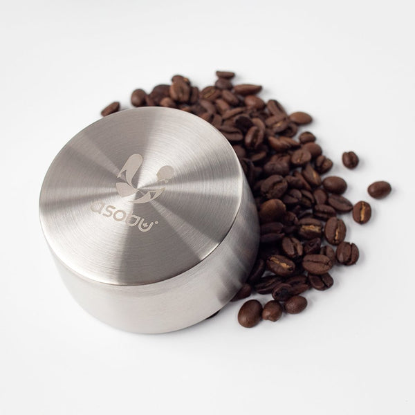 Asobu Pour Over cap and coffee beans