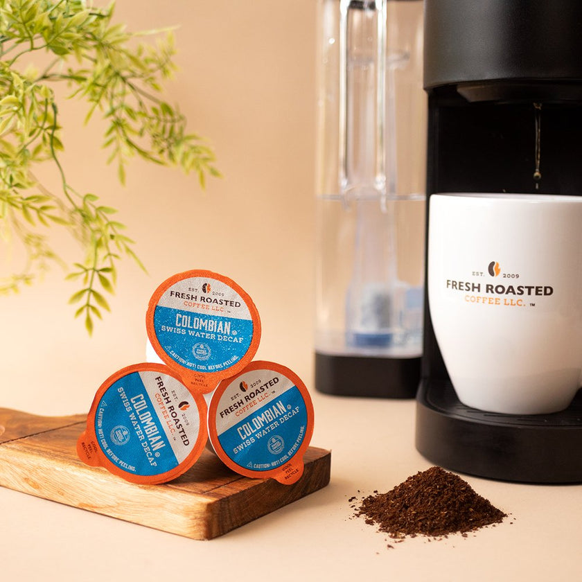 Colombian Swiss Water Decaf - Single Serve Coffee Pods