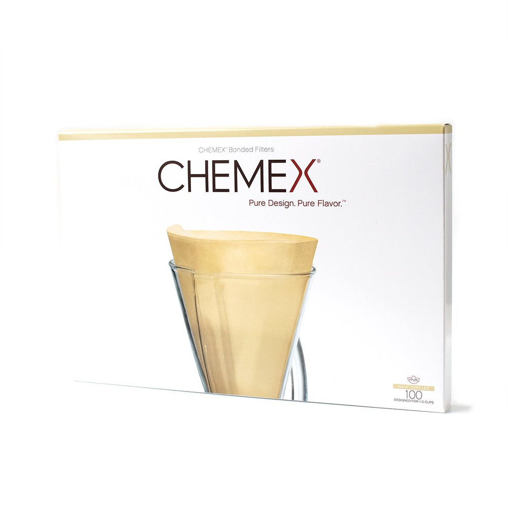 Chemex® Bonded Filters for Funnex® - Unfolded Half Moon