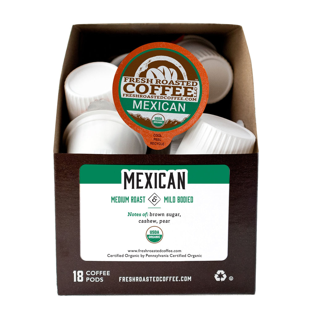 Organic Mexican Coffee Pods