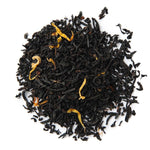 A pile of Organic Pumpkin Spice Black Tea.
