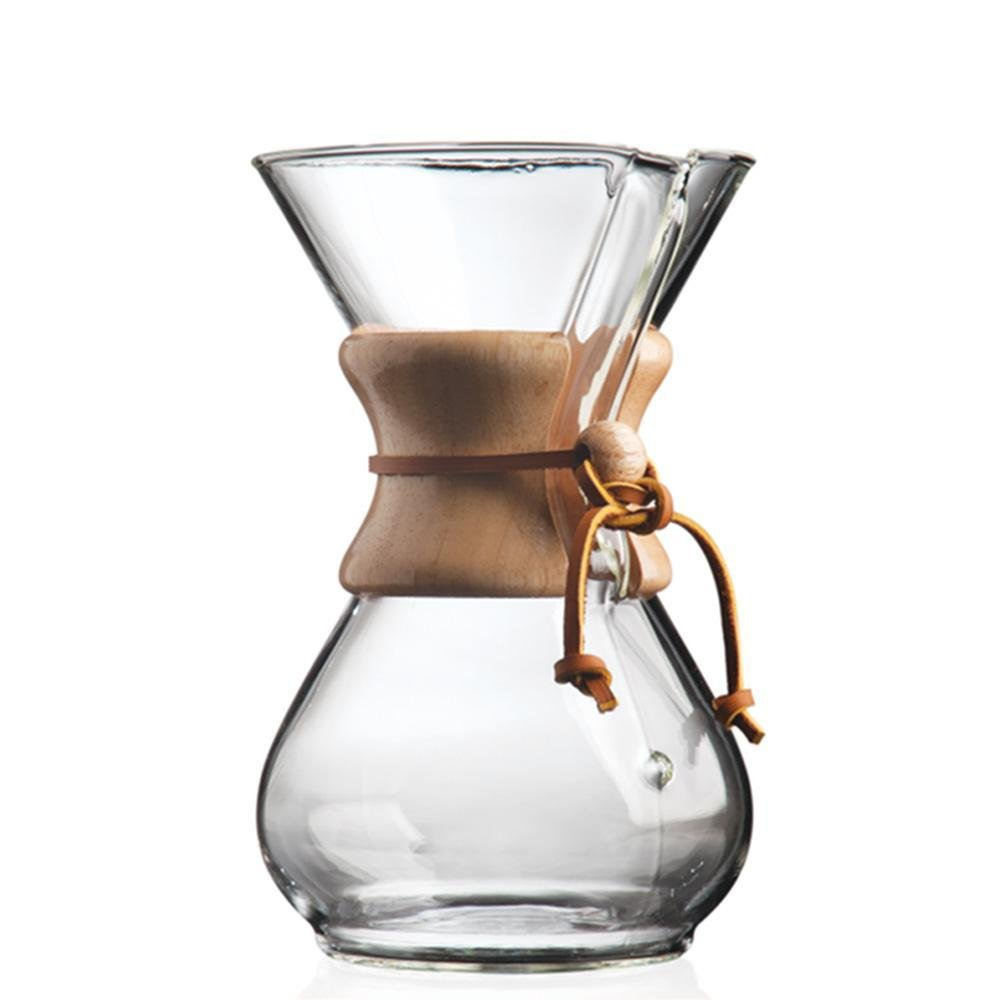 6 cup Chemex classic coffee maker