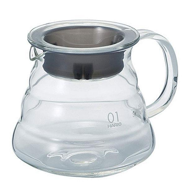 Hario V60 Glass Range Server, size 01.