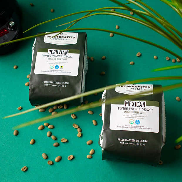 Organic Mexican Swiss Water Decaf - Green Unroasted Coffee 1