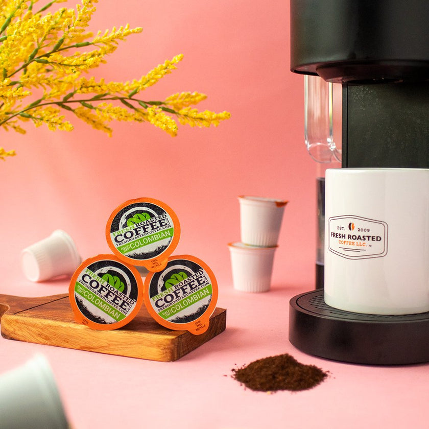 Colombian Swiss Water Half Caf - Single Serve Coffee Pods