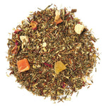 Pile of Organic Island Breeze Rooibos Tea.