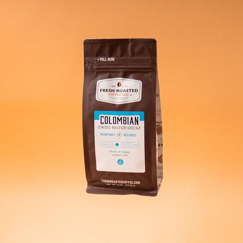Colombian Swiss Water Decaf - Roasted Coffee