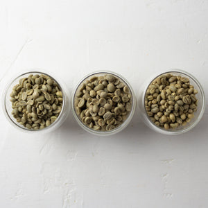 Unroasted African Coffee Sampler