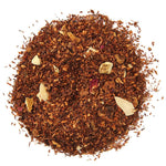 A pile of Organic Red Christmas Rooibos Tea.