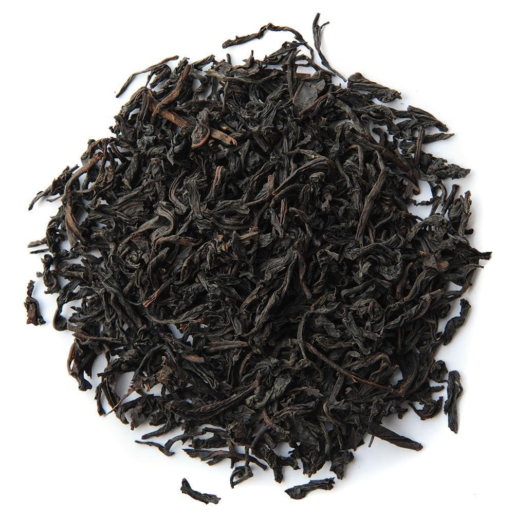 Pile of Organic Ceylon Black Tea.