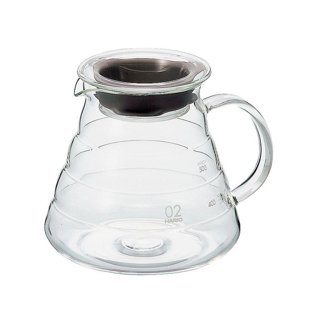 Hario V60 Glass Range Server, size 02.