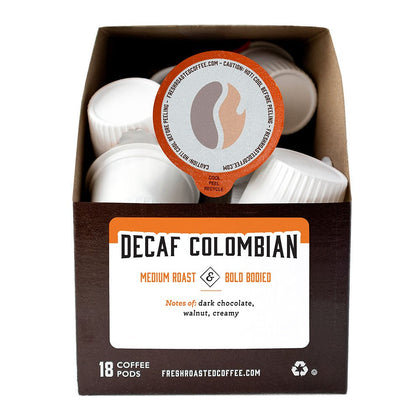 Colombian Decaf - Single Serve Coffee Pods