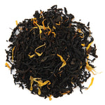 A pile of Organic Passion Fruit Black Tea.