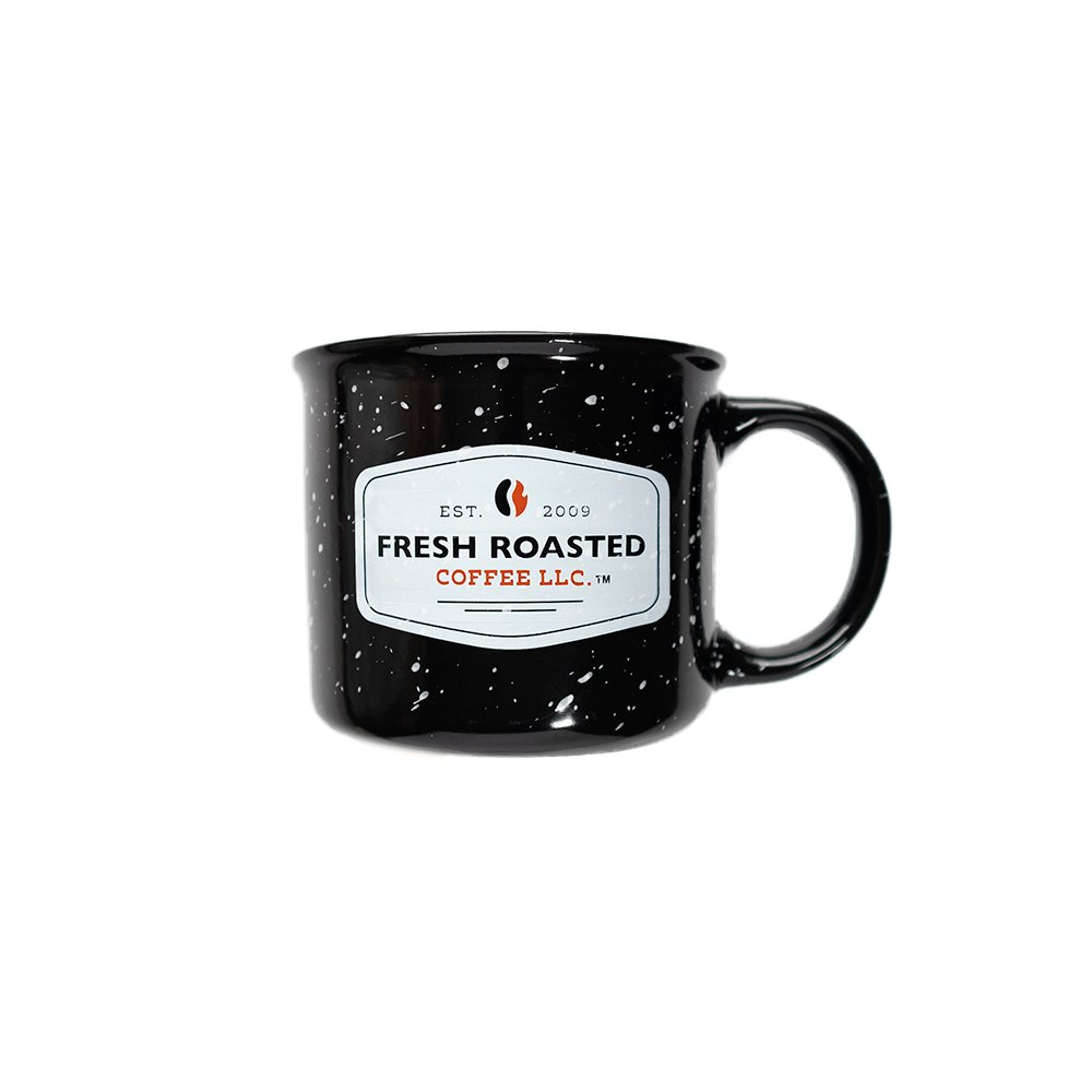 Fresh Roasted Coffee Ceramic Campfire Mug