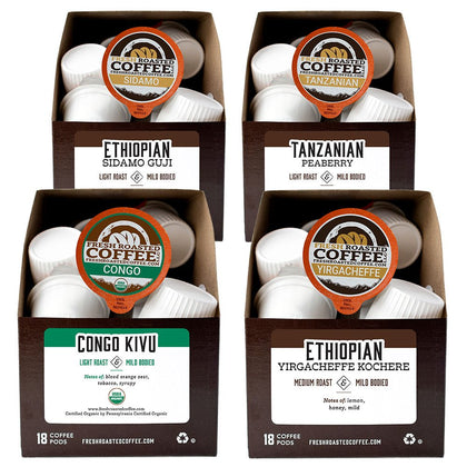 African Variety Pack - Single Serve Coffee Pods