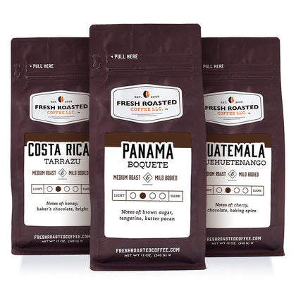 Tour of Central America - Roasted Coffee Bundle