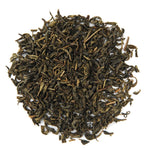 Pile of Organic Jasmine Green Tea.