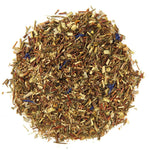 Pile of Blueberry Bliss Rooibos Tea.
