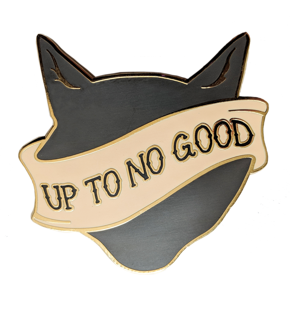 No Good Lucy Enamel Pin