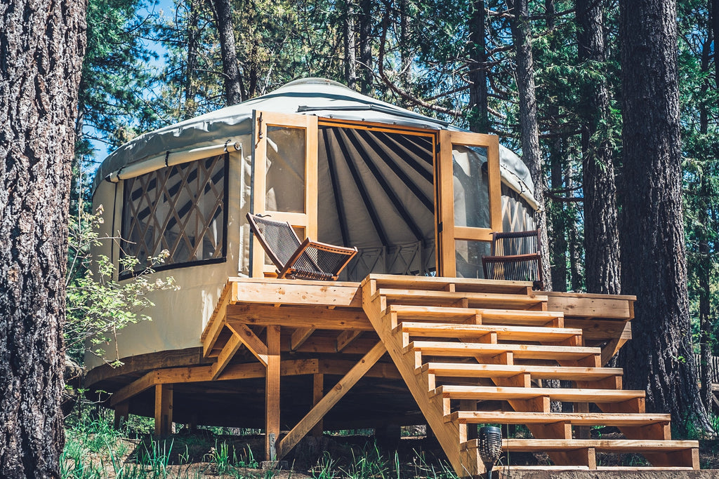 "Wildland ""Be Well"" yurt in Idyllwild, California - a unique glamping experience"