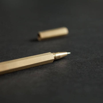 Hexagon Brass Pen
