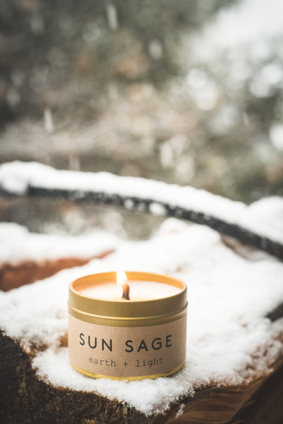 Wellness Candle - Sun Sage