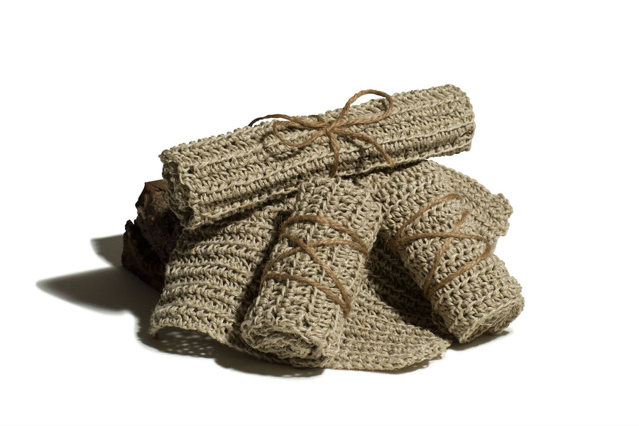 Artisanal Hemp Washcloth
