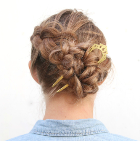 Nikki Jacoby Heirloom Hair Comb - Maza