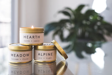 Wellness Candles - Alpine Collection