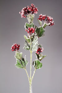 "D260290 RED 36"" Snow Berry Branch"