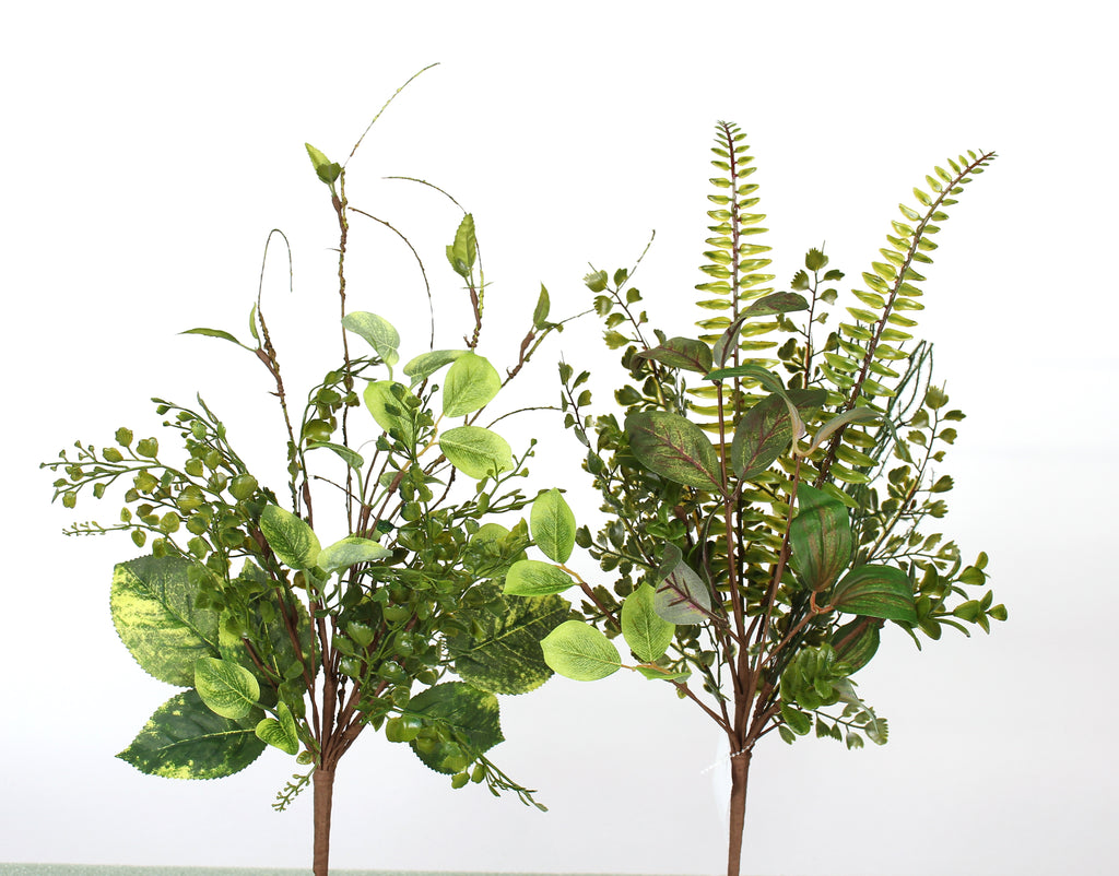 "D266461 - 21"" Mixed Green Foliage - Set of 2"