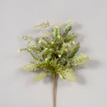 "AG17703 GR - 24"" Flocked Mixed Foliage"
