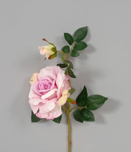 "AS31641 Pink - 17"" Rose Spray"