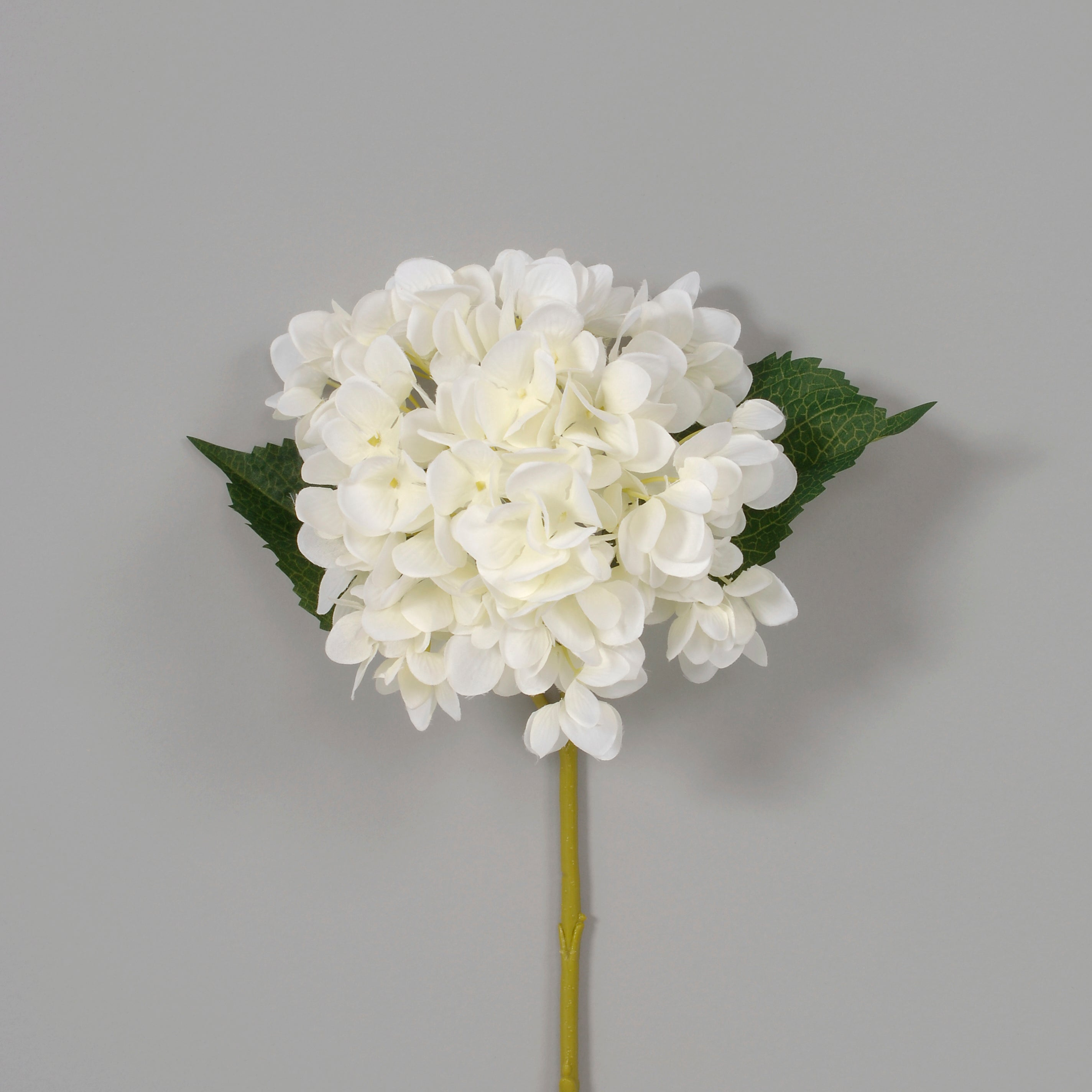 "AS31661 CR - 18"" Hydrangea Stem - Cream"