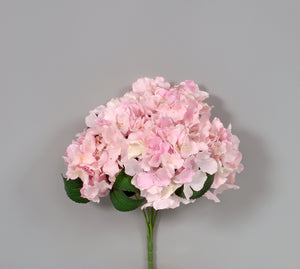 "AS31643 LT/Pink 16"" Hydrangea Bush"