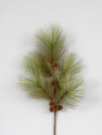 "AG13274 38"" LONG NEEDLE PINE SPRAY"