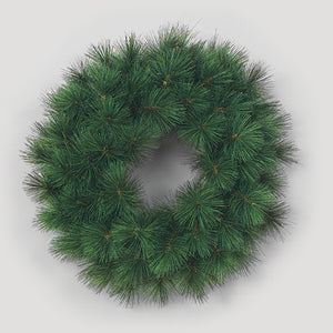 "AG7230 30"" WHITE PINE WREATH"